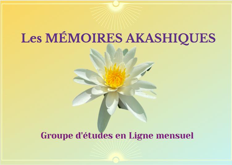 Groupe études Mémoires Akashiques