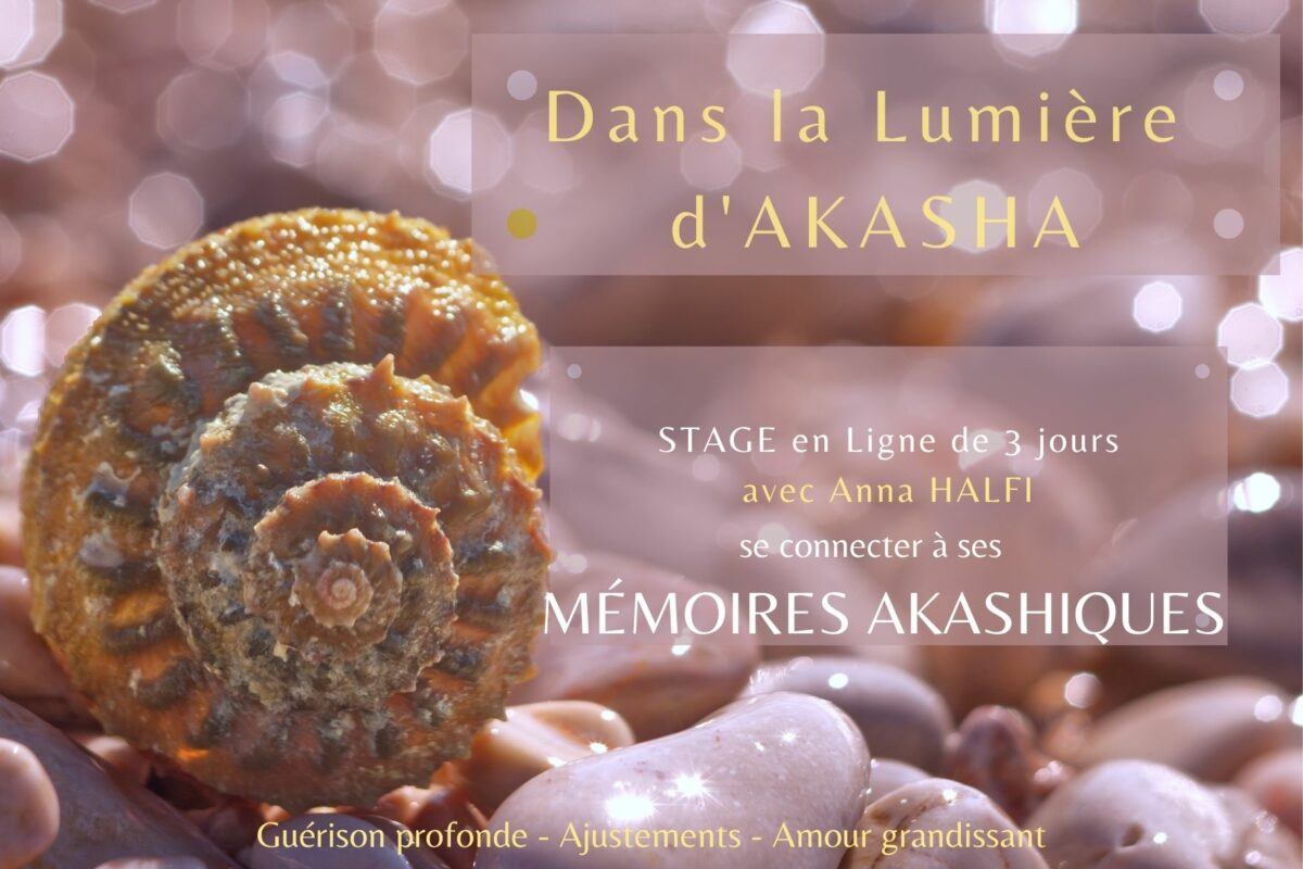 STAGE MEMOIRES AKASHIQUES