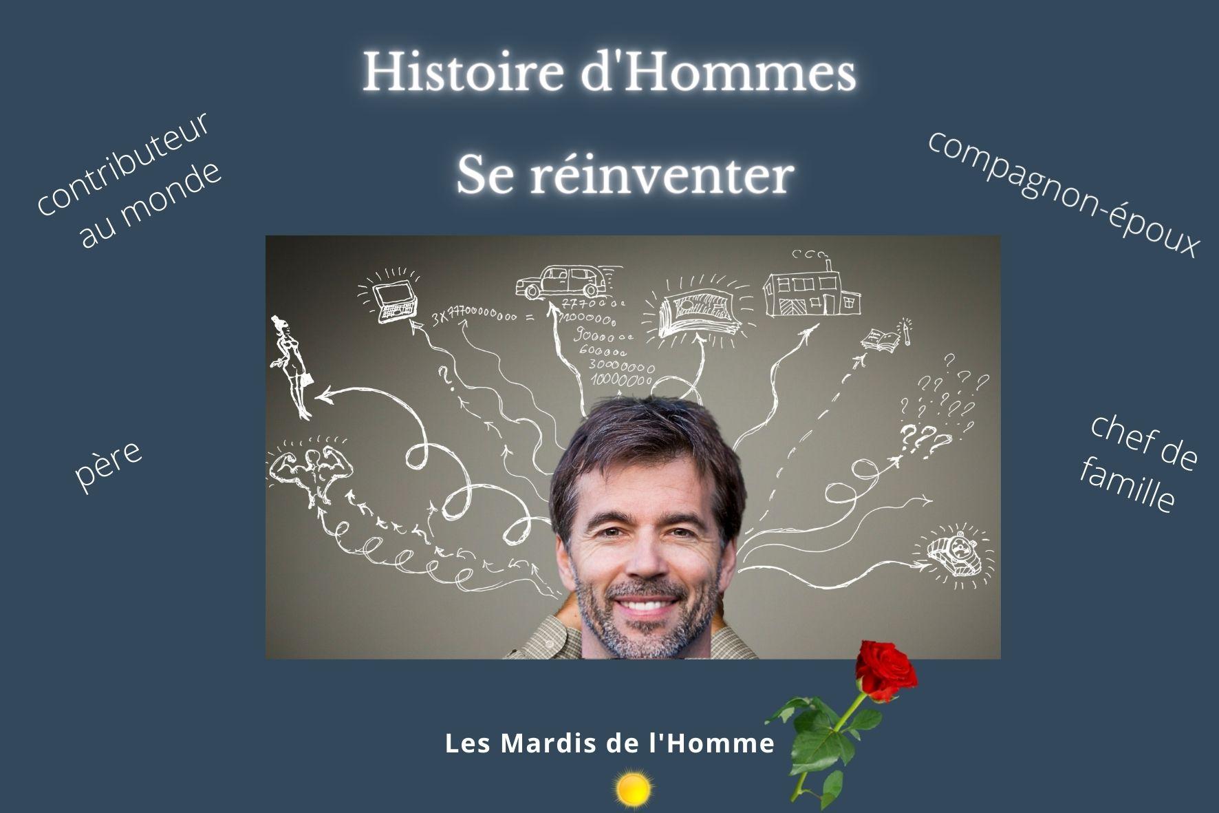 Histoire d'Hommes-se réinventer